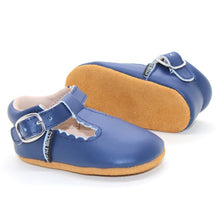T-Bar Moccs  {Navy}