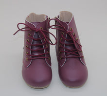 Voyager Boot hard sole - Merlot