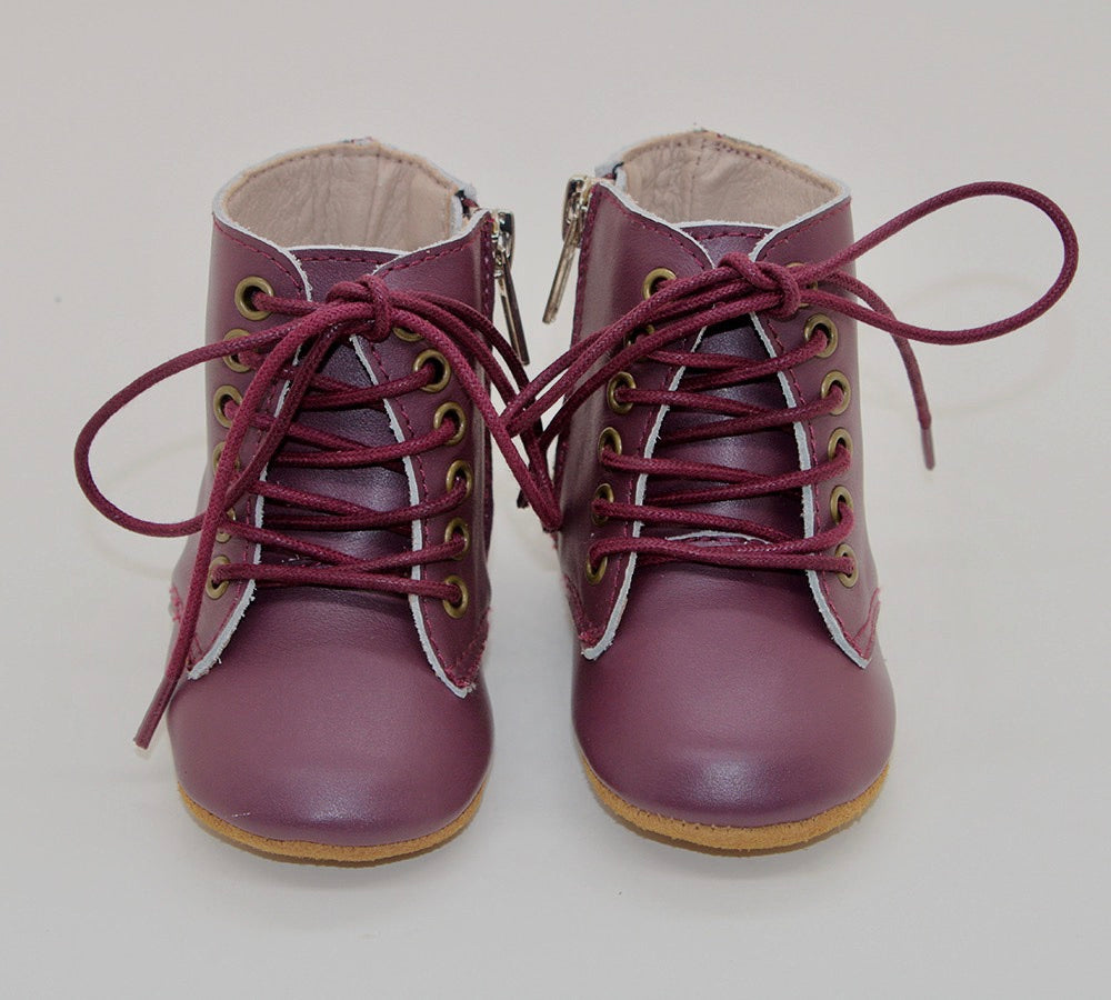 Voyager Boot soft sole - Merlot