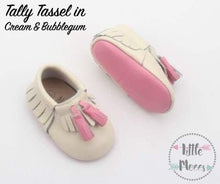 Tally Tassel Moccs {Vanilla Cream & Pink Bubblegum duo} CLEARANCE 🚨