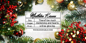 Mistletoe Kisses | Limited Edition Holiday Scented Soy Candle
