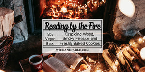 Reading by the Fire - Seasonal