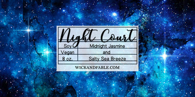 Solar Court Set - A Court of Mist and Fury Inspired Soy Candles