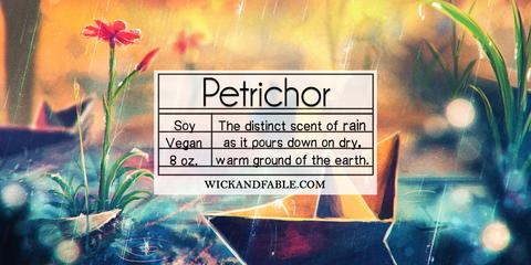 Petrichor - Limited Edition Spring Soy Candle
