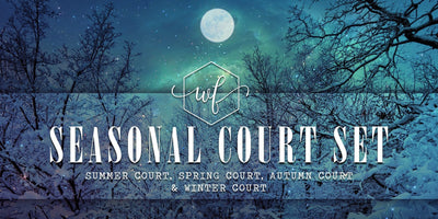 Seasonal Court Set - A Court of Mist and Fury Inspired Soy Candles