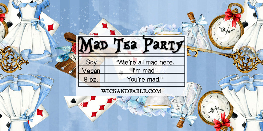 Mad Tea Party - Alice in Wonderland