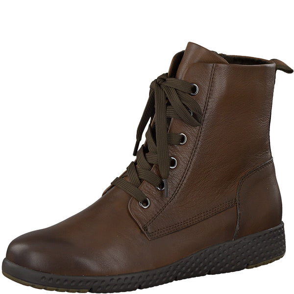 Marco Tozzi Leather Cognac Boot 25251