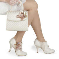 Ruby Shoo Electra light pink shoe