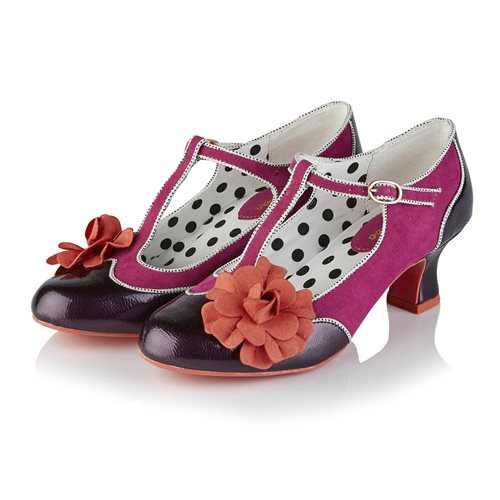 Ruby Shoo Marcie purple shoe