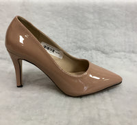 Millie & Co Nude low heel court shoes