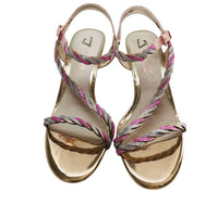Una Healy Homecoming Queen Pink Sandal