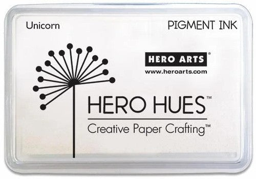 Hero Arts Unicorn White Pigment Ink Stamp Pad AF249