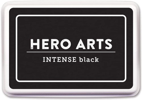 Hero Arts INTENSE Black Ink Pad AF345 ~ Alcohol-Marker Friendly Ink