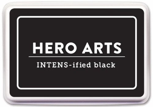Hero Arts INTENS-ified Black Ink Pad AF435 ~ Alcohol-Marker Friendly Ink
