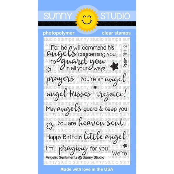Angelic Sentiments Stamps