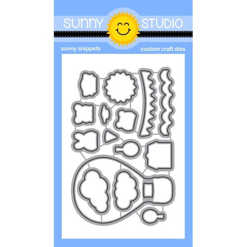 Sunny Studio Stamps Balloon Rides Metal Cutting Dies SSDIE-235