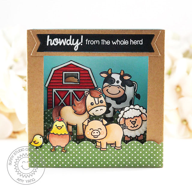 Barnyard Buddies Stamps
