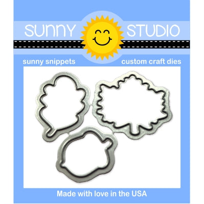 Sunny Studio Stamps Beautiful Autumn Steel Rule Die Set