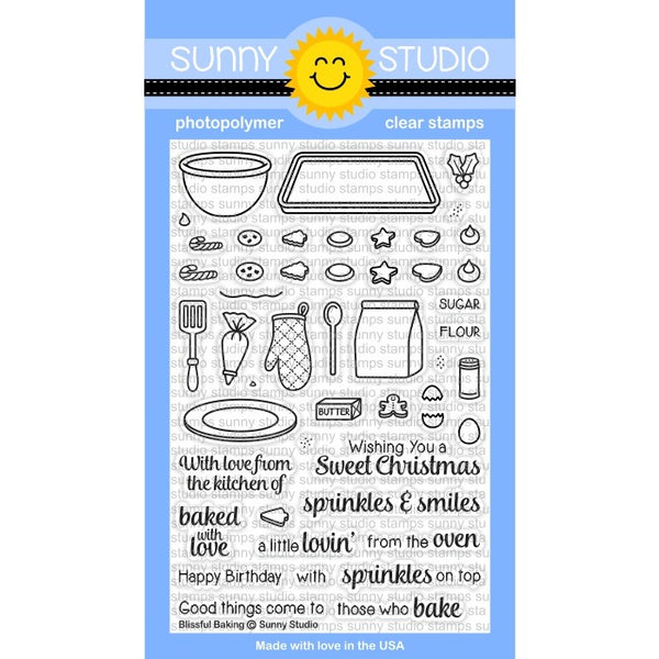 Blissful Baking Stamps