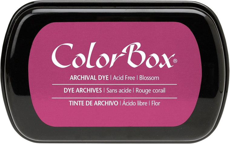 Clearsnap Colorbox Archival Dye Ink Pad-Blossom