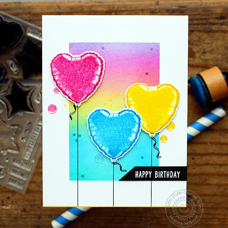 Bold Balloons Stamps