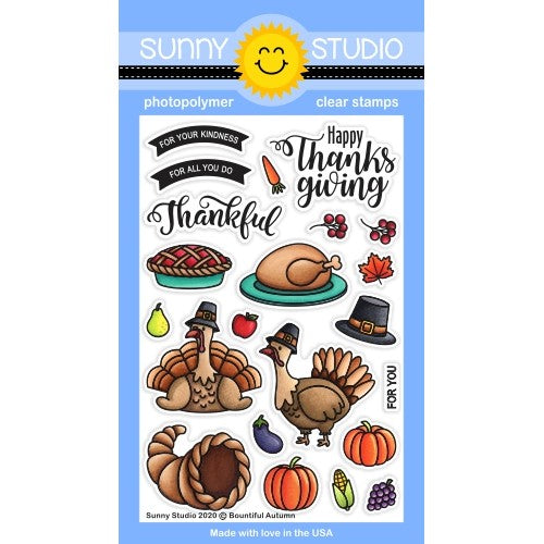 Bountiful Autumn Stamps