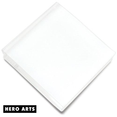 "Hero Arts 3"" x 3"" Acrylic Block"