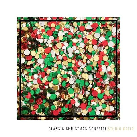 Studio Katia Classic Christmas Confetti Mix with 4mm, 5mm & 6mm