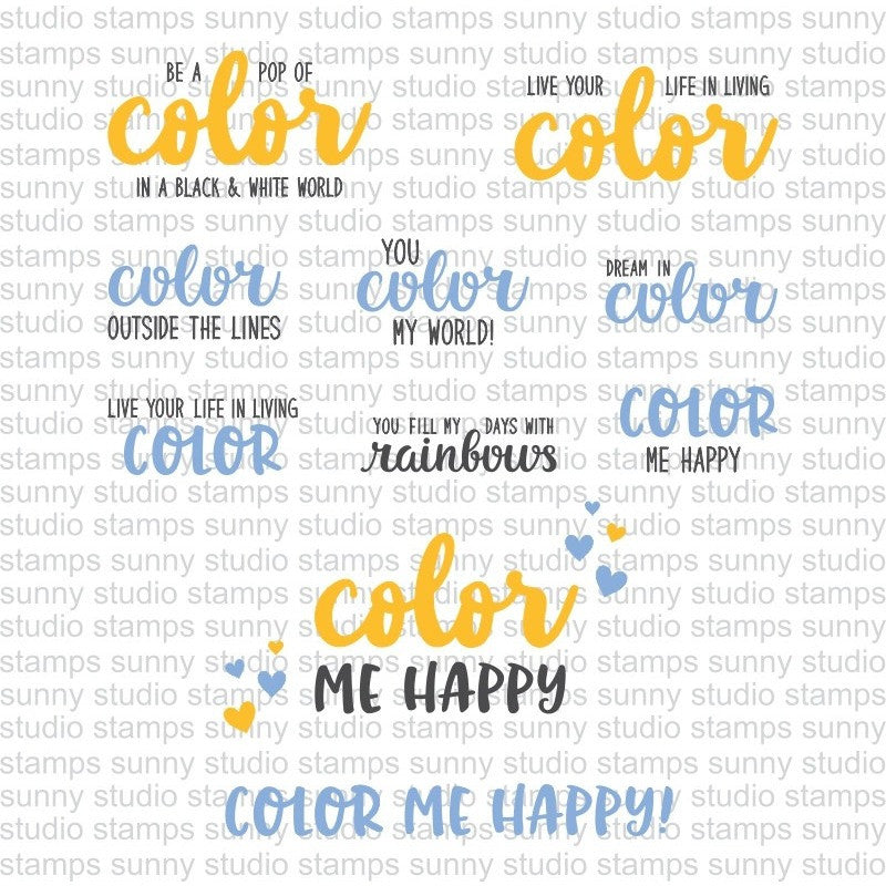 Color Me Happy Stamps