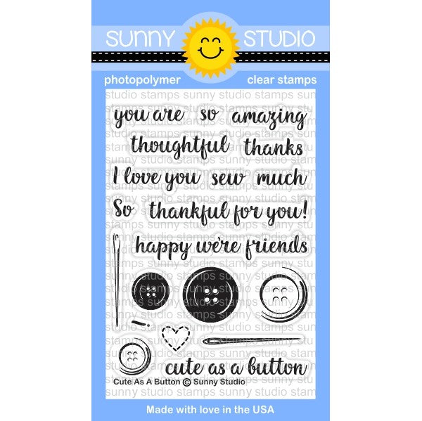 Cute As A Button Stamps