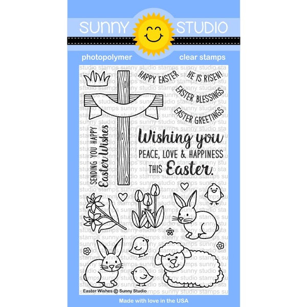 Easter Wishes Stamps