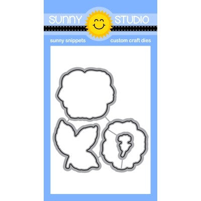 Sunny Studio Everything's Rosy Rose Low Profile Metal Cutting Die Set
