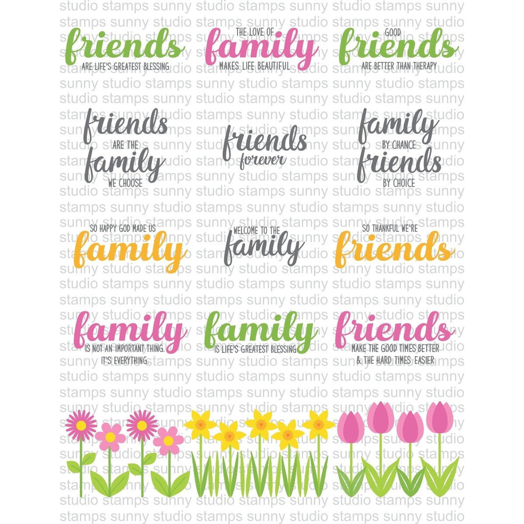 Friends & Family Stamps
