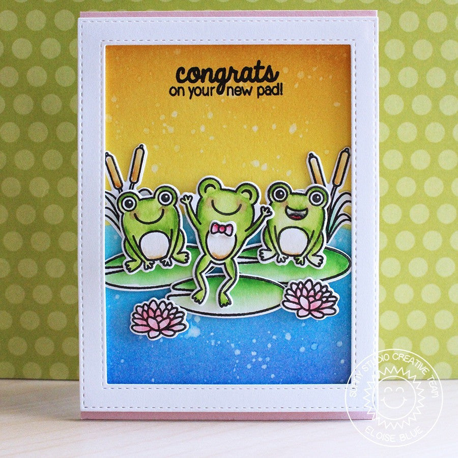 Froggy Friends Stamps