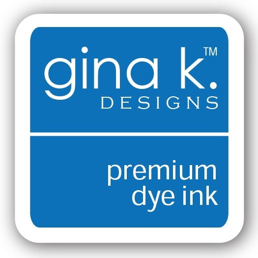 "Gina K. Designs GKD 1"" Mini Premium Dye Ink Cube - Blue Raspberry"