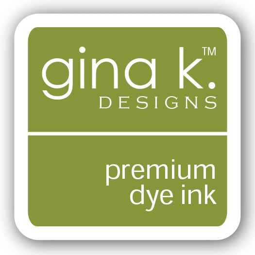 "Gina K. Designs GKD 1"" Mini Premium Dye Ink Cube - Jelly Bean Green"
