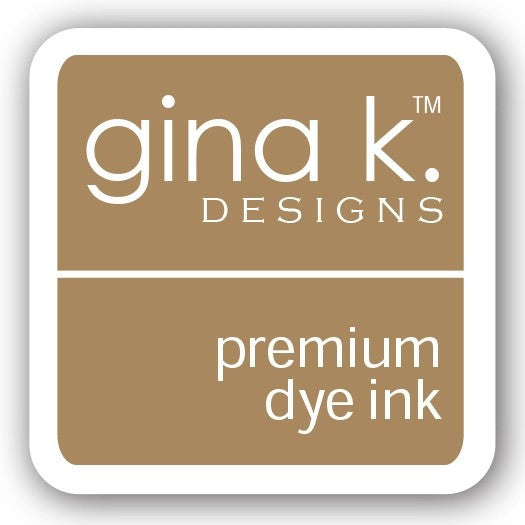 "Gina K. Designs GKD 1"" Mini Premium Dye Ink Cube - Kraft"