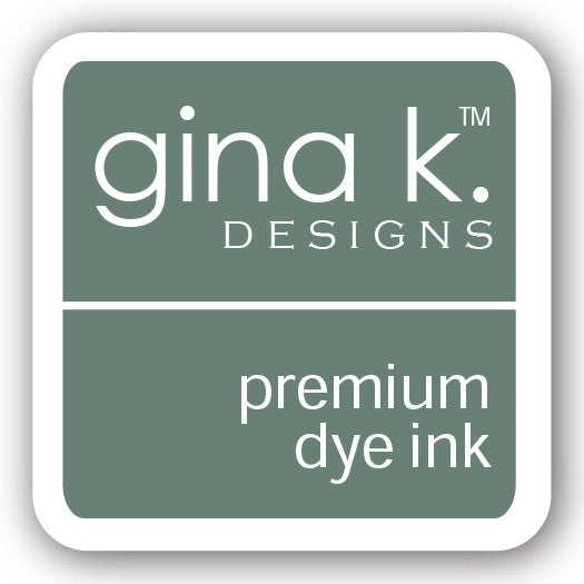 "Gina K. Designs GKD 1"" Mini Premium Dye Ink Cube - Moonlit Fog"