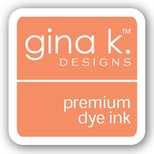 "Gina K. Designs GKD 1"" Mini Premium Dye Ink Cube - Peach Bellini"