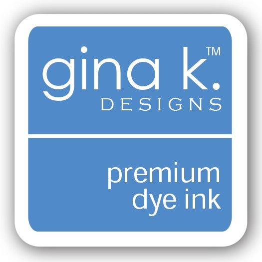 "Gina K. Designs GKD 1"" Mini Premium Dye Ink Cube - Powder Blue"