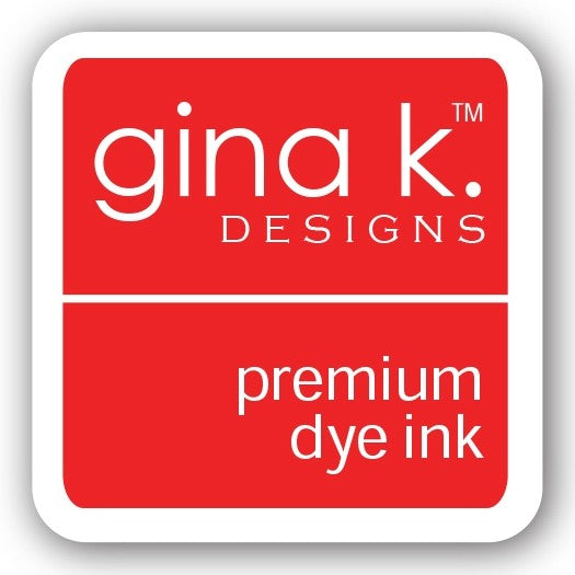 "Gina K. Designs GKD 1"" Mini Premium Dye Ink Cube - Red Hot"