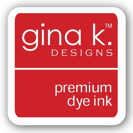"Gina K. Designs GKD 1"" Mini Premium Dye Ink Cube - Red Velvet"