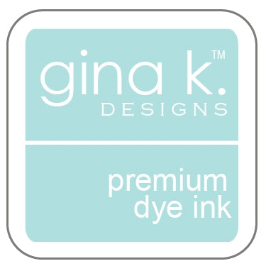 "Gina K. Designs GKD 1"" Mini Premium Dye Ink Cube - Sea Glass"