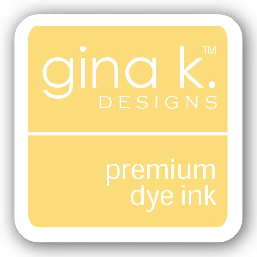 "Gina K. Designs GKD 1"" Mini Premium Dye Ink Cube - Sweet Corn"