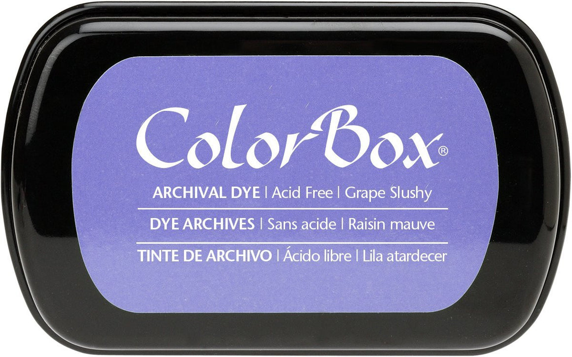 Clearsnap Colorbox Archival Dye Ink Pad-Grape Slushy