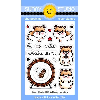 Happy Hamsters Stamps