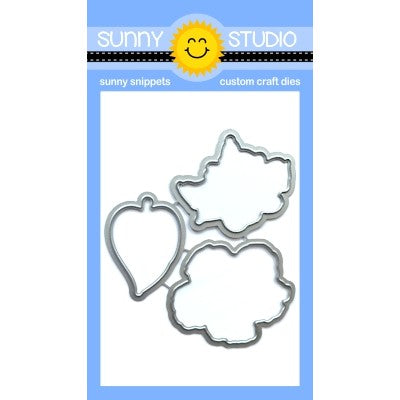 Sunny Studio Stamps Hawaiian Hibiscus Low Profile Metal Cutting Dies