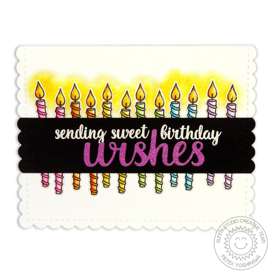 Heartfelt Wishes Sending Sweet Birthday Wishes Candle Card