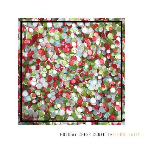 Studio Katia Holiday Cheer 4mm, 5mm and 6mm Cupped Satin Finish Confetti