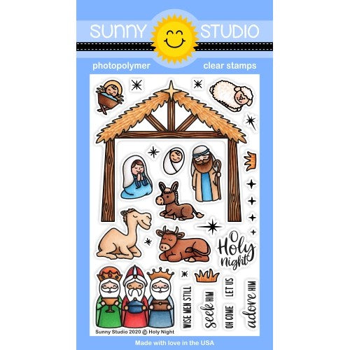 Holy Night Stamps